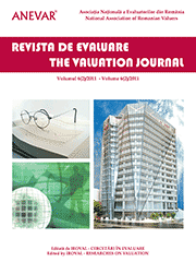 Revista de Evaluare / The Valuation Journal